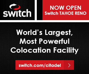 Switch Now Open Switch Tahoe Reno World's Largest, Most Powerful Colocation Facility